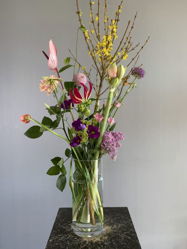 Foto van een twee-wekelijks een boeket in ons bloemenabonnement