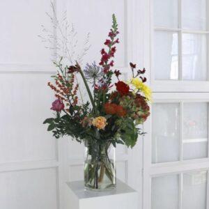 Foto van een boeket uit een bloemenabonnement