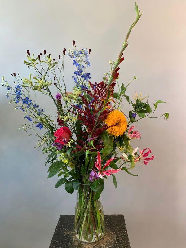 Plukboeket met duurzame seizoensbloemen