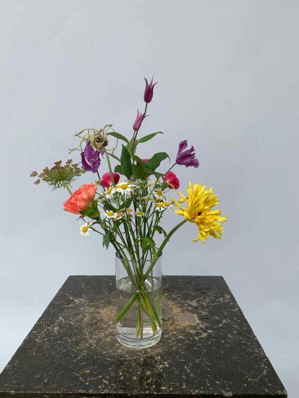 Een tuiltje is een klein boeketje van gemengde bloemen.