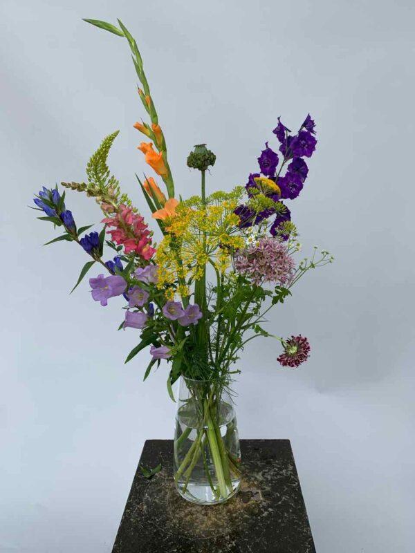 Een zomer boeket vol zomerbloemen