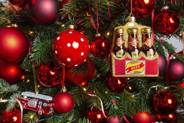 Kerstboom decoratie-figuurtjes: Bier.