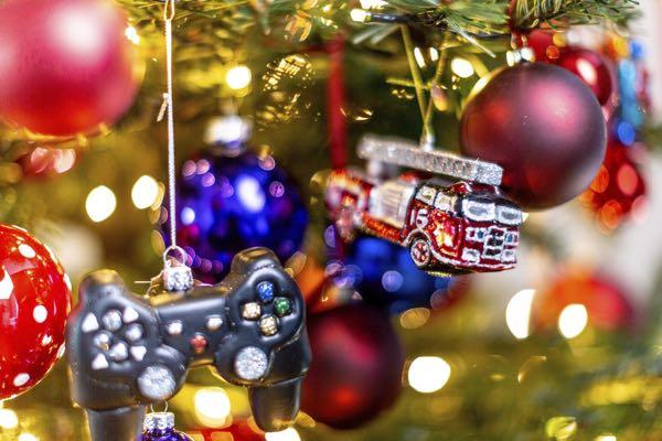Kerstboom decoratie-figuurtjes: De brandweer.