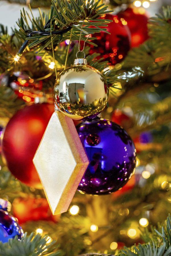 Kerstboom decoratie-figuurtjes: De spekjes.