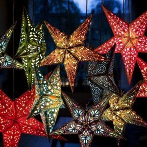 Foto van verlichte sterren van Starlightz