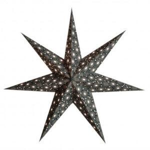 Starlightz Cristal Black Christmas star