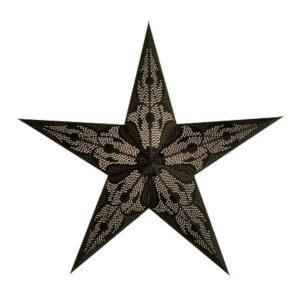 Starlightz Damascus Black kerst ster