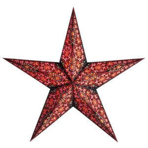 Starlightz Cristal Black Kerst ster