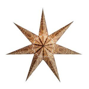 Starlightz Kashmir Brown Kerst ster