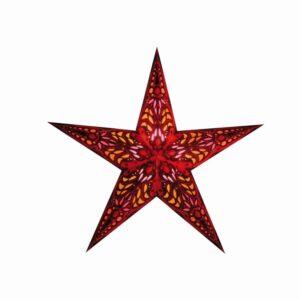 Starlightz Mercury Red Kerst ster